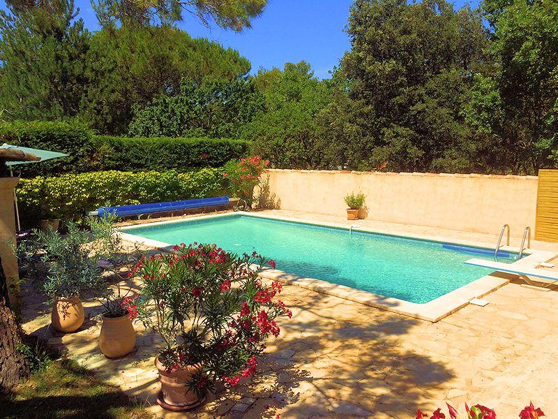 Vakantiehuis zwembad - Les-Taillades - La Michelette - Luberon Provence